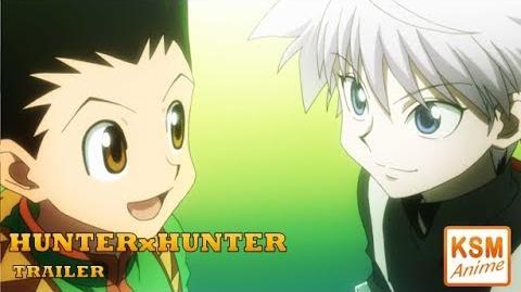 HUNTERxHUNTER - TRAILER Deutsch (German)-0