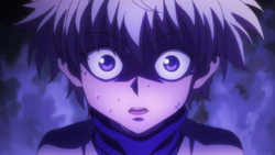 Killua Scared