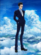 Leorio portrayal in Shironeko Project