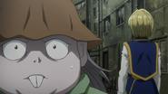 Melody notices Kurapika's heart beat