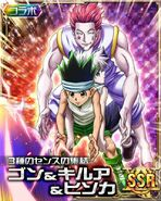 HxH Battle Collection Card (185)