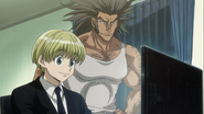 Shalnark helping Uvo