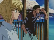 Kurapika and leorio 2nd ending