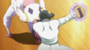 Hisoka plays dodgeball