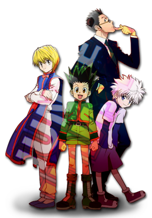 Hxh cast anime 2011