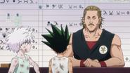 Epis 65 (2011) - Gon and Killua talk to the Trade Shop NPC in Masadora -06.18-