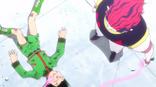 Hisoka vence a Gon