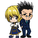 Kurapika and Leorio