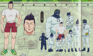 Razor G.I Design (2011 Anime)
