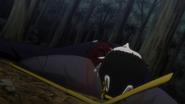 Gotoh killed by Hisoka