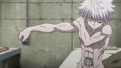107 - Killua's body fully healed