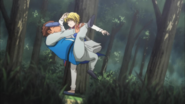 Kurapika kicks Tonpa