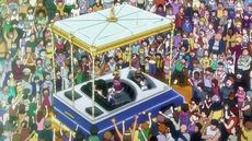 Gon, Killua & Biscuit At GI's Final Event