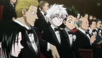 Phinks and Feitan met Gon and Killua