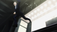Leorio rushing to Gon