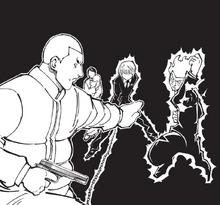 Chap 364 - Vincent vs Bill & Kurapika