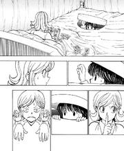 Chap 374 - Fugetsu using her Nen beast ability