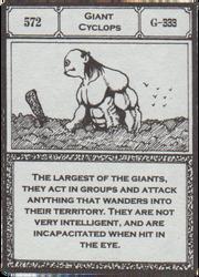 Giant Cyclops (G.I card Manga) =en=