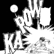 Chap 233 - Gon using Rock against Hollow