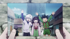 Killua, Alluka & Gon's photo