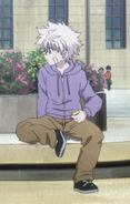 94 - Killua Chimera Ant Outfit 2