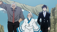 Morel Netero and Knov arrive