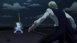 Shaiapouf confronts Killua