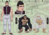 Goreinu G.I Design (2011 Anime)