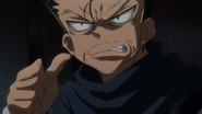 Ging getting furious