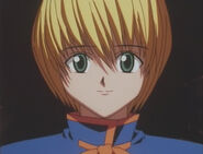 Kurapika smiles