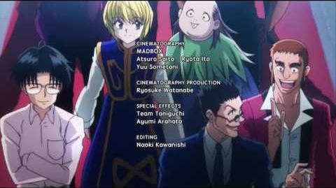Hunter x Hunter Ending 2 - US Toonami Version