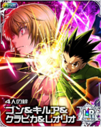 HxH 4th anniversary LR Card