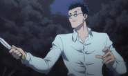 Leorio episode 16 facing Hisoka