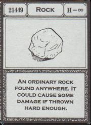 Rock (G.I card Manga) =en=