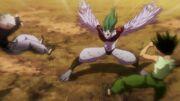 Gon y Killua vs Rammot 'Hormiga Quimera' (1)
