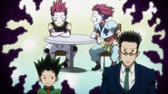 Gon and Leorio's imagination