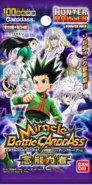 HunterxHunter Miracle Battle Carddass - The Zoldyck 2