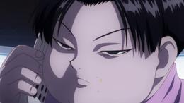 38 - Milluki talking to Killua