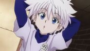Killua during the third phase