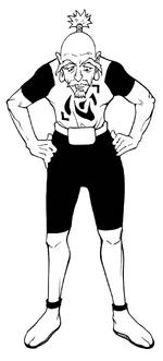 Chap 215 - Netero Heart Shirt
