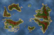 Mapa Mundo Color