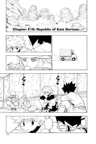 Chapter 216 - Republic of East Gorteau