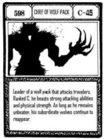 Chief of Wolf Pack (G.I Card Manga) =en=