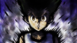 Gon in anger