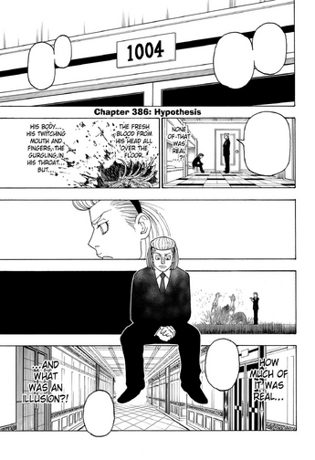 Chapter 386 - Hypothesis