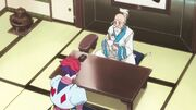 Hisoka interviewed by netero