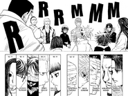 Chap 377 - Phantom Troupe members