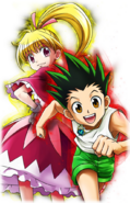 Gon and Biscuit - Gemstone shining