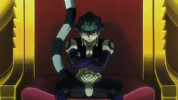 104 - Meruem on his throne