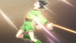 Gon Defeated By Gido